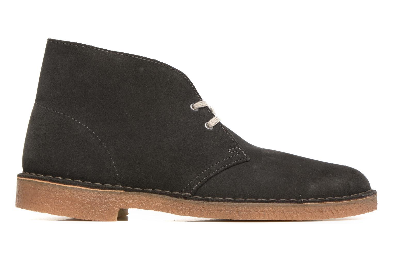 Stivaletti e tronchetti Clarks Desert Boot Grigio immagine posteriore