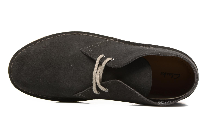 Bottines et boots Clarks Desert Boot Gris vue gauche