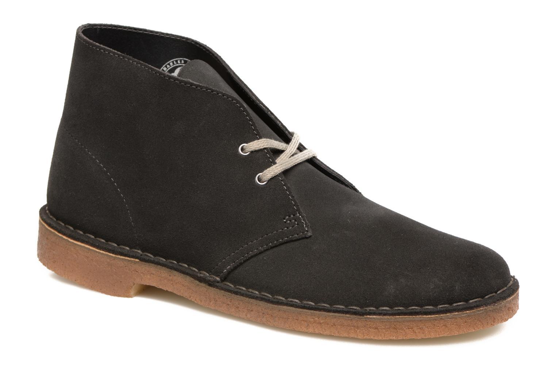 Bottines et boots Clarks Desert Boot Gris vue détail/paire