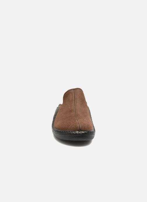 Slippers Romika Mokasso 202 Brown model view