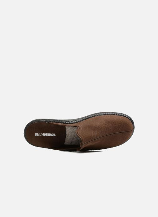 Pantoffels Romika Mokasso 202 Bruin links