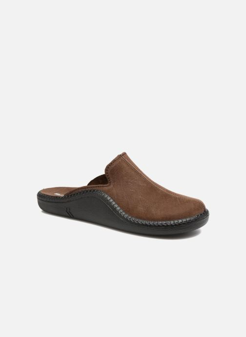 Pantoffels Romika Mokasso 202 Bruin detail