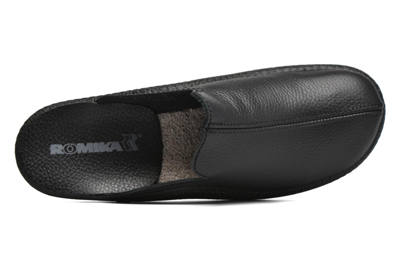 Chaussons Romika Mokasso 202 G Noir vue gauche