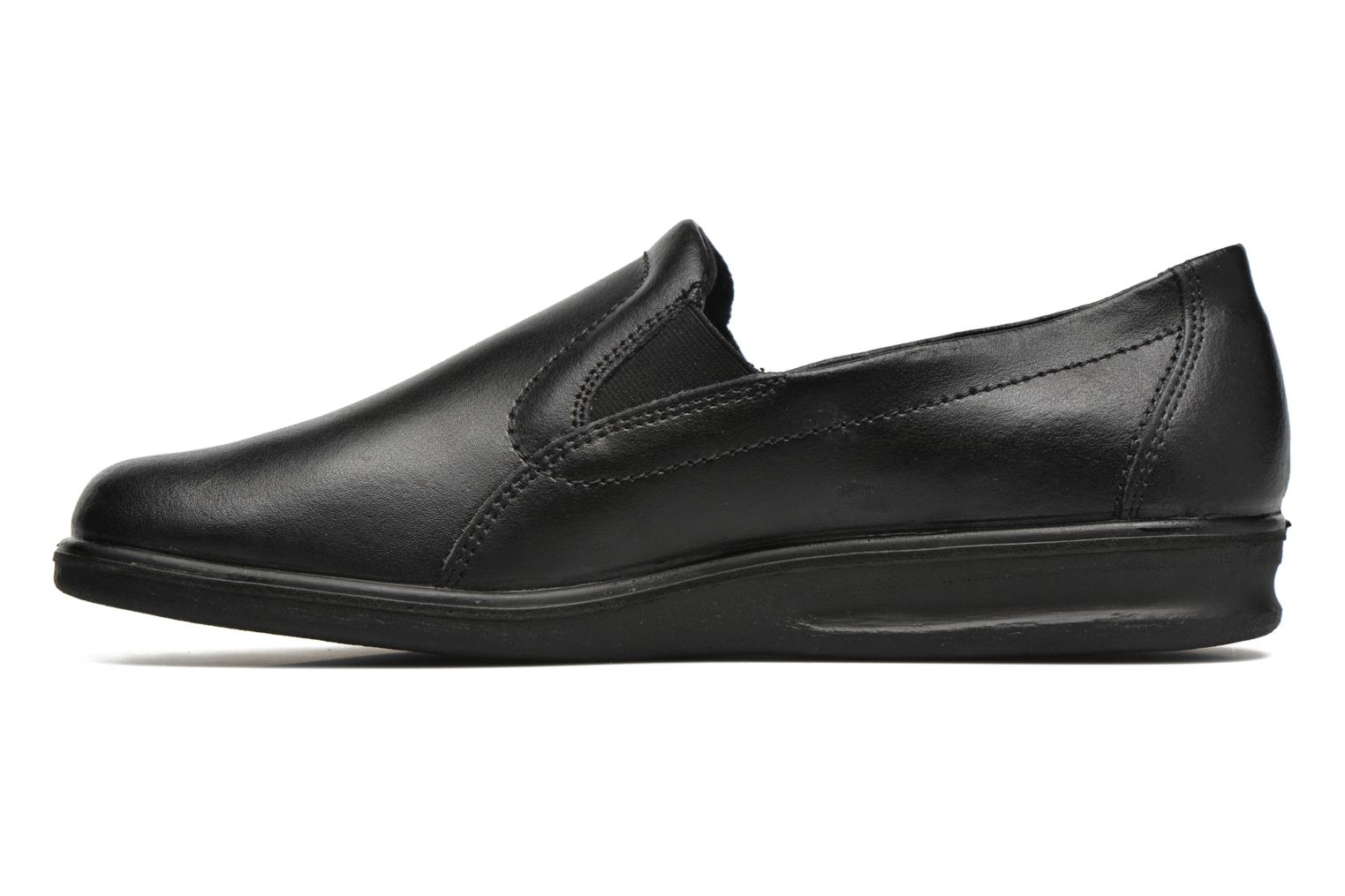 Slippers Romika Präsident 88 Black front view