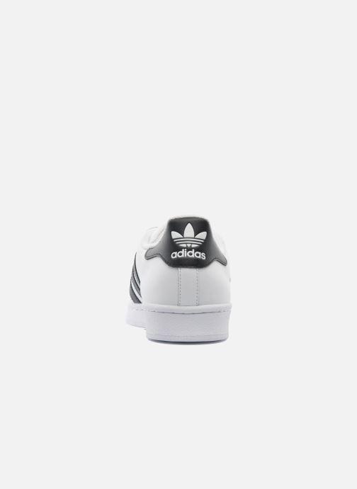 Baskets adidas originals Superstar Blanc vue droite