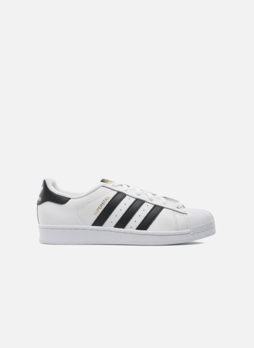 Baskets adidas originals Superstar Blanc vue derrière