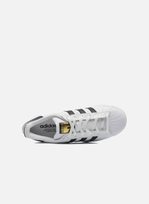 Sneaker adidas originals Superstar weiß ansicht von links