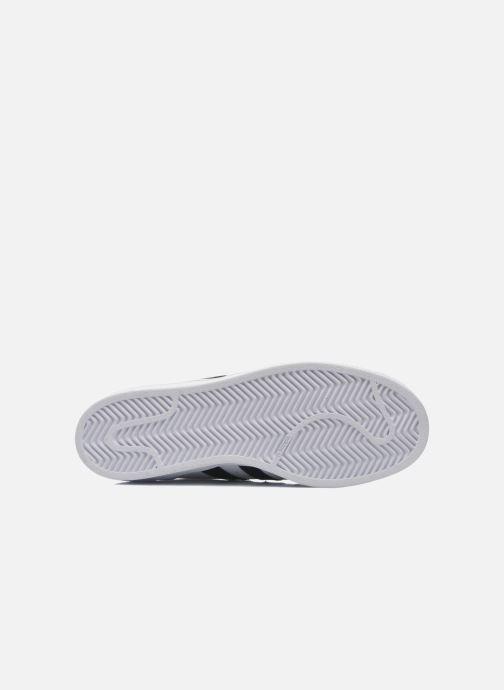 Sneakers adidas originals Superstar Bianco immagine dall'alto