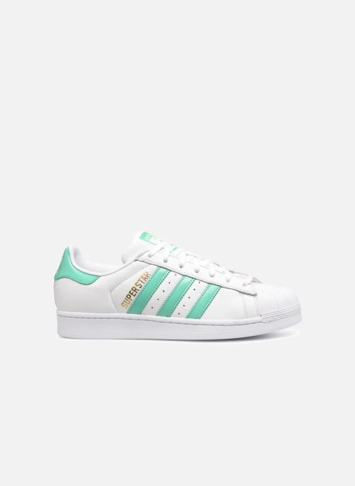 Sneakers adidas originals Superstar Wit achterkant
