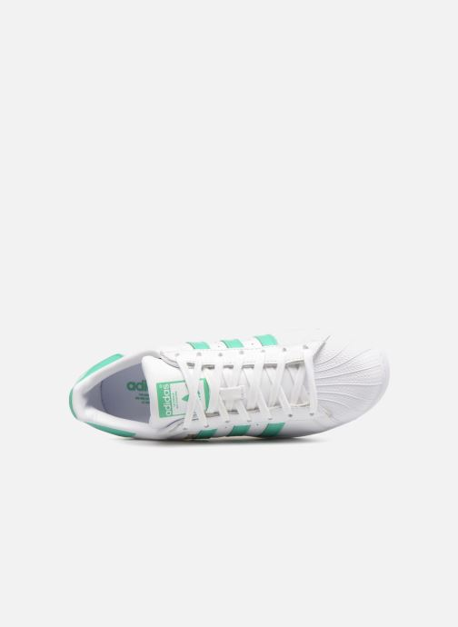 Sneakers adidas originals Superstar Wit links