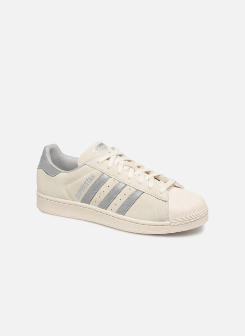 Sneakers adidas originals Superstar Grijs detail