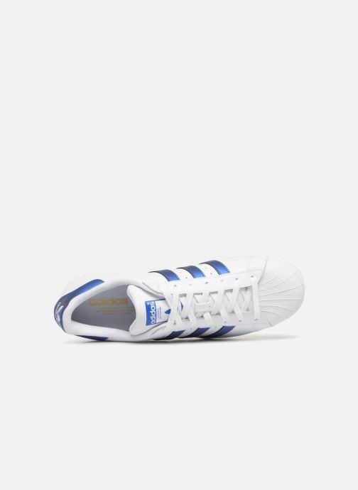 Sneakers Adidas Originals Superstar Bianco immagine sinistra