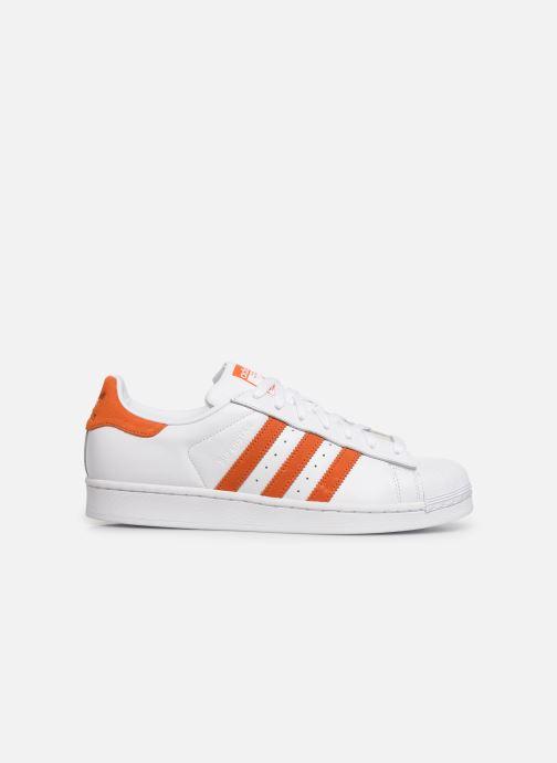 Sneakers adidas originals Superstar Hvid se bagfra