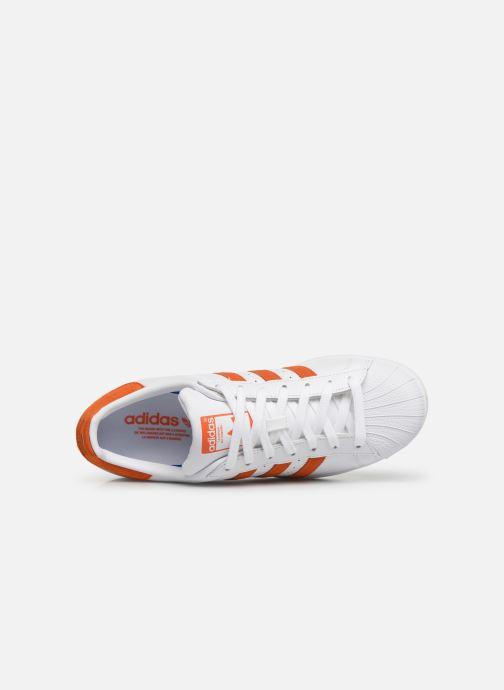 Sneakers adidas originals Superstar Hvid se fra venstre
