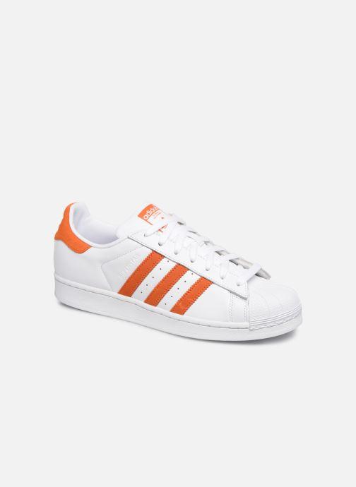 Sneakers adidas originals Superstar Hvid detaljeret billede af skoene