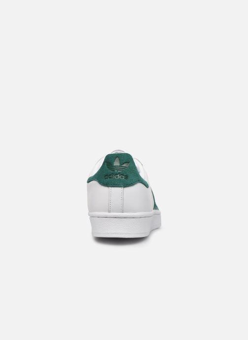 Sneakers adidas originals Superstar Wit rechts