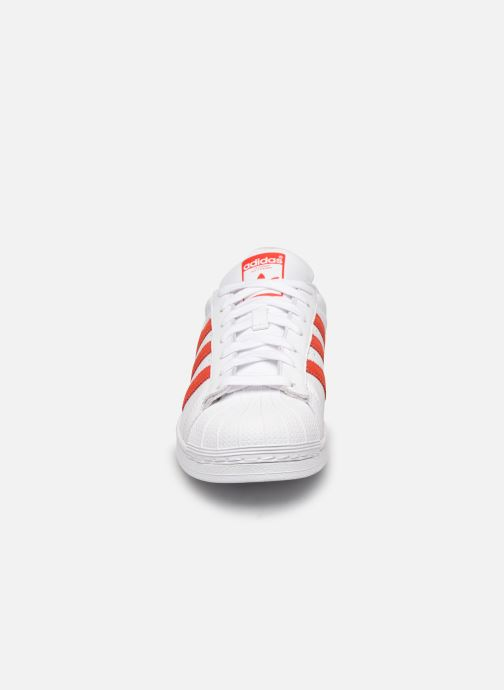 Deportivas adidas originals Superstar Blanco vista del modelo