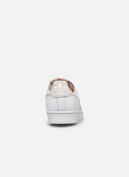 Deportivas adidas originals Superstar Blanco vista lateral derecha