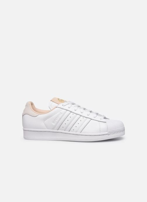 Sneakers adidas originals Superstar Vit bild från baksidan