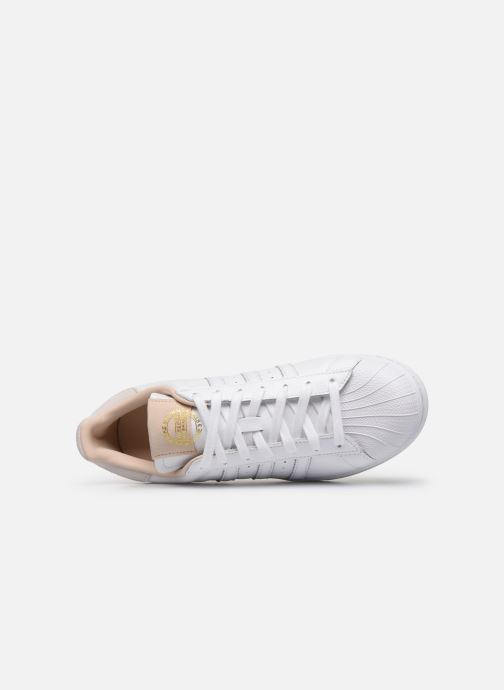 Deportivas adidas originals Superstar Blanco vista lateral izquierda