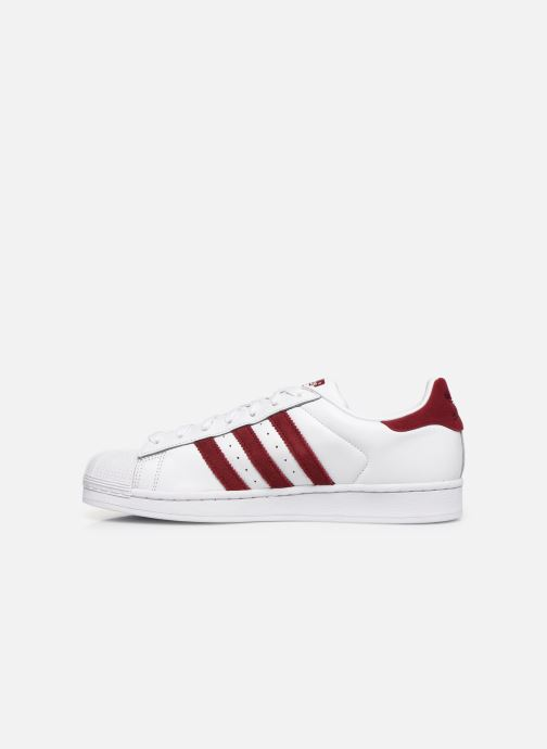 Sneakers adidas originals Superstar Vit bild från framsidan