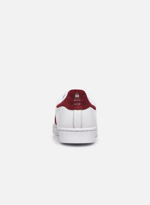 Sneakers adidas originals Superstar Vit Bild från höger sidan