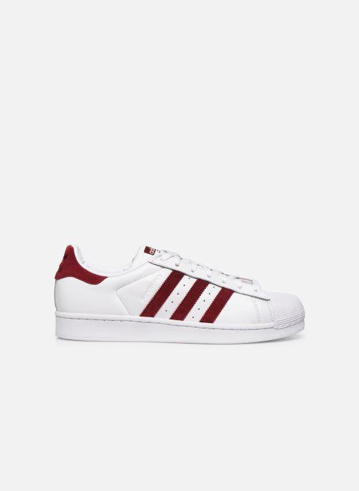Sneakers adidas originals Superstar Vit bild från baksidan