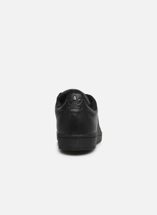 Deportivas adidas originals Superstar Negro vista lateral derecha