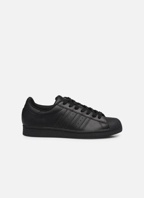 Sneaker adidas originals Superstar schwarz ansicht von hinten
