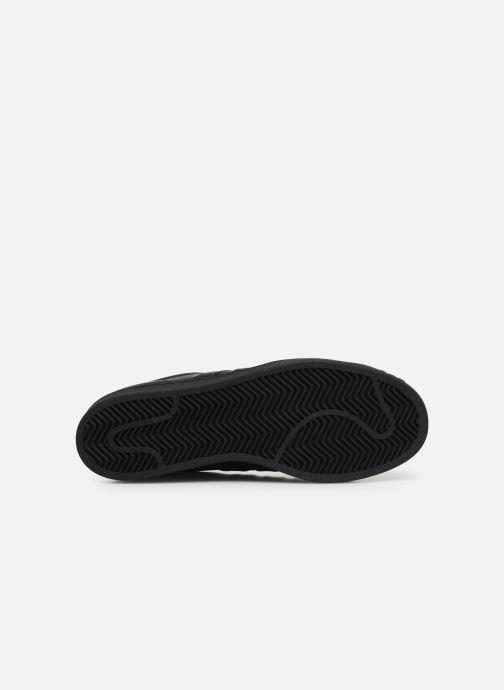 Sneaker adidas originals Superstar schwarz ansicht von oben