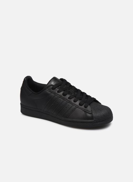 Baskets adidas originals Superstar Noir vue détail/paire