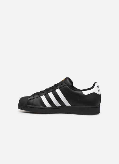 Sneakers adidas originals Superstar Nero immagine frontale