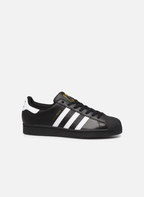 Sneakers adidas originals Superstar Nero immagine posteriore