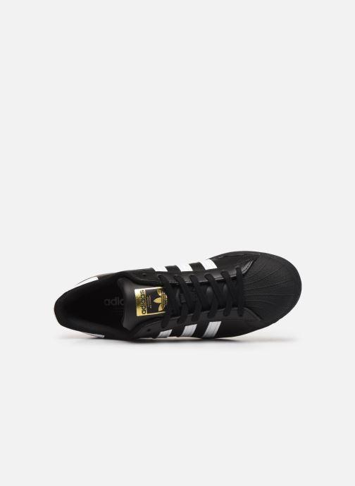 Baskets adidas originals Superstar Noir vue gauche