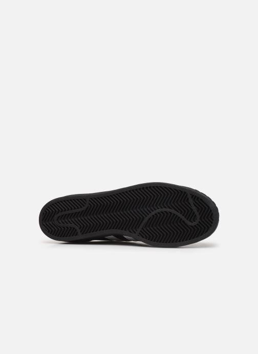 Baskets adidas originals Superstar Noir vue haut