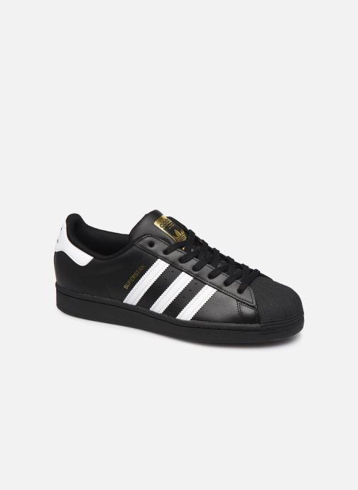 Sneakers adidas originals Superstar Sort detaljeret billede af skoene