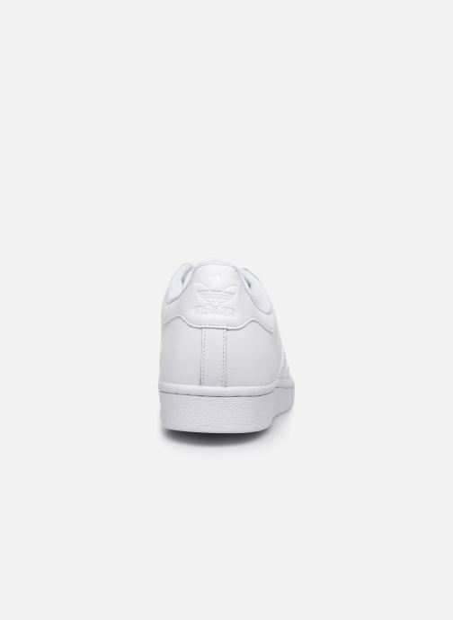 Baskets adidas originals Superstar Blanc vue droite