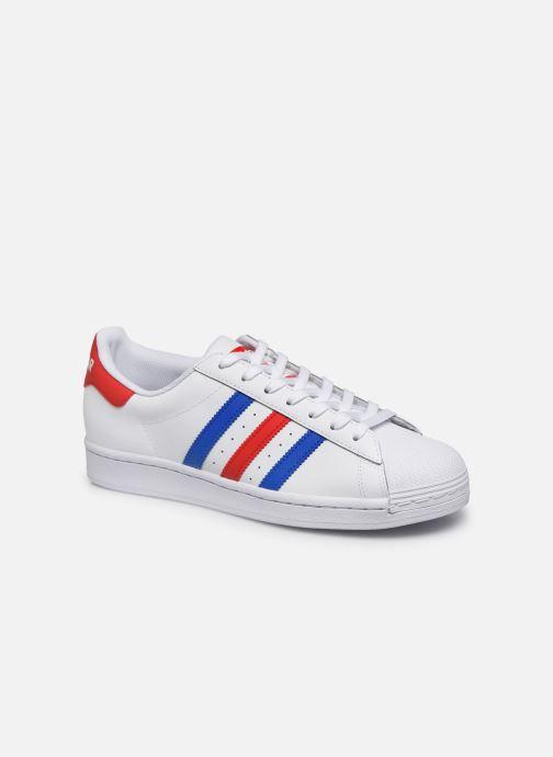 Deportivas adidas originals Superstar Blanco vista de detalle / par