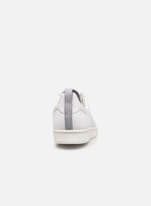 Sneaker adidas originals Superstar weiß ansicht von rechts