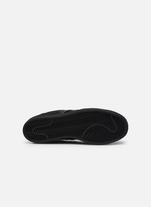 Sneakers adidas originals Superstar Nero immagine dall'alto