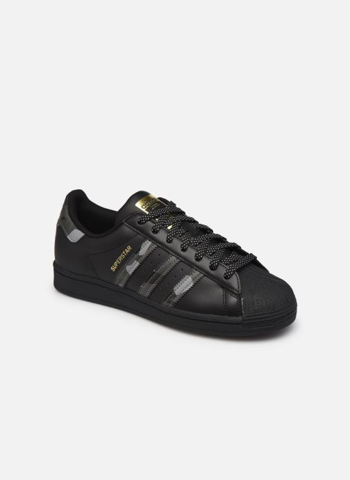 Deportivas adidas originals Superstar Negro vista de detalle / par