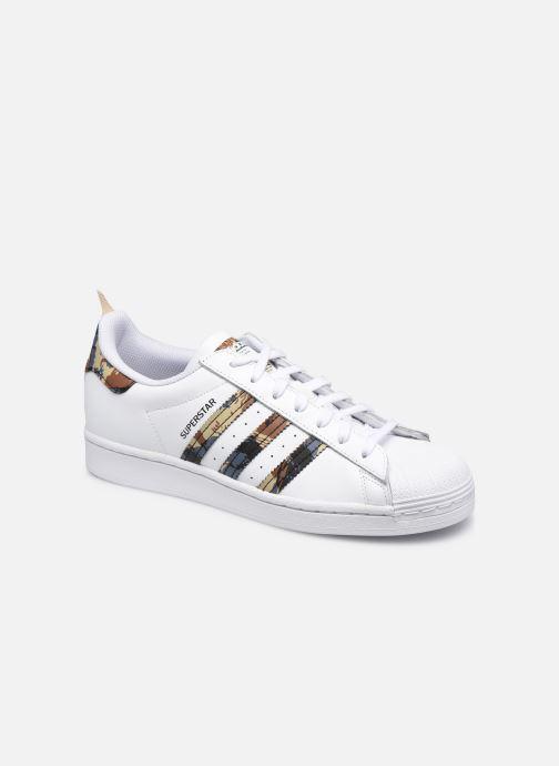 Sneaker adidas originals Superstar weiß detaillierte ansicht/modell