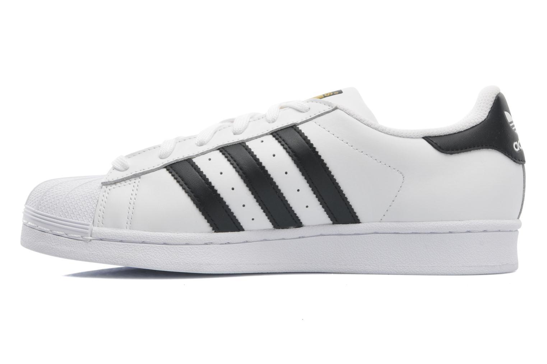 Sneakers Adidas Originals Superstar Bianco immagine frontale