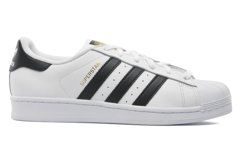 Sneaker Adidas Originals Superstar weiß ansicht von hinten