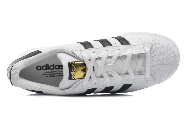 Sneaker Adidas Originals Superstar weiß ansicht von links