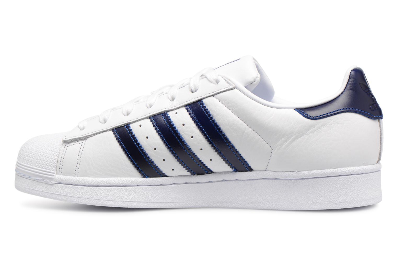 Baskets Adidas Originals Superstar Blanc vue face
