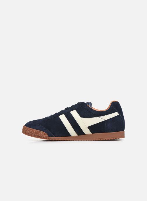 Sneakers Gola Harrier Blauw voorkant