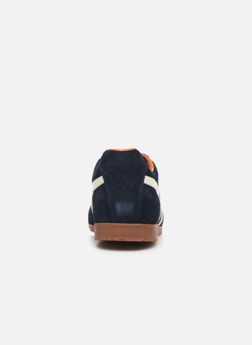 Sneaker Gola Harrier blau ansicht von rechts
