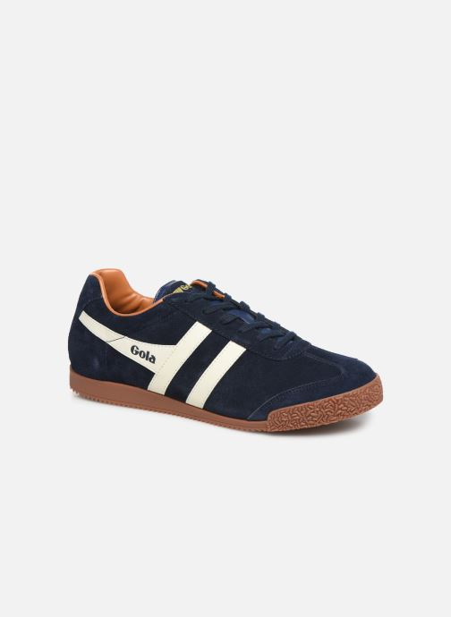 Trainers Gola Harrier Blue detailed view/ Pair view
