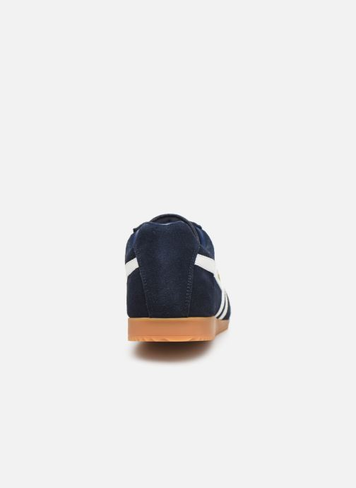 Baskets Gola Harrier Bleu vue droite